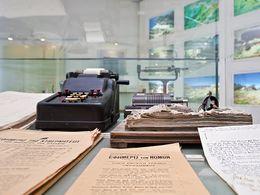 Alte Dokumente aus dem Schwefelbergwerk von Milos (c) Tobias Schorr