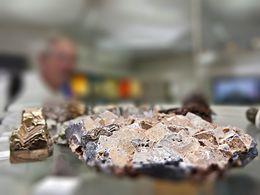 Bleiglanzkristalle (c) Tobias Schorr