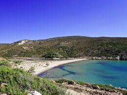 Der Angathia-Strand auf West-Milos