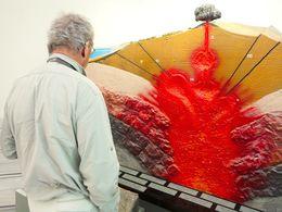 So stellt man sich einen klassischen Vulkan vor. (c) Tobias Schorr