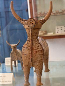 Prähistorisches Tonidol aus Phylakopi (c) Tobias Schorr