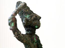 Bronzefigur eines minoischen Kriegers (c) Tobias Schorr