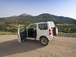 West-Milos und viele anderen interessanten Orte auf Milos lassen sich nur mit einem 4x4-Jeep sicher erkunden. (c) Tobias Schorr