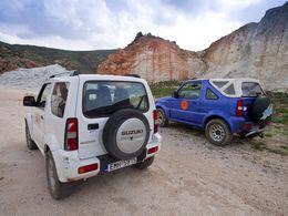 Bei unseren Touren benutzen wir ausschließlich Jeeps, um überall gut und sicher hinzukommen. (c) Tobias Schorr
