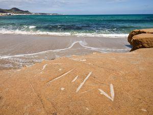 Strand auf Nord-Milos. (c) Tobias Schorr