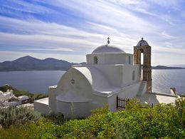 Kirche in Tripiti/Milos. (c) Tobias Schorr