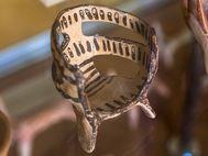 Im Museum von Poros besichtigten wir die mykenischen Funde aus Methana.