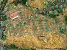 Das mykenische Heiligtum (c) Tobias Schorr