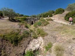 Eines der ältesten Bauwerke Griechenlands (c) Tobias Schorr