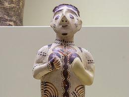 Mykenische Götterfigur