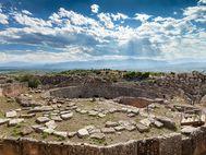 Der berühmte Gräberrund von Mykene