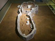 Die mykenische Festung Tyrins als Modell
