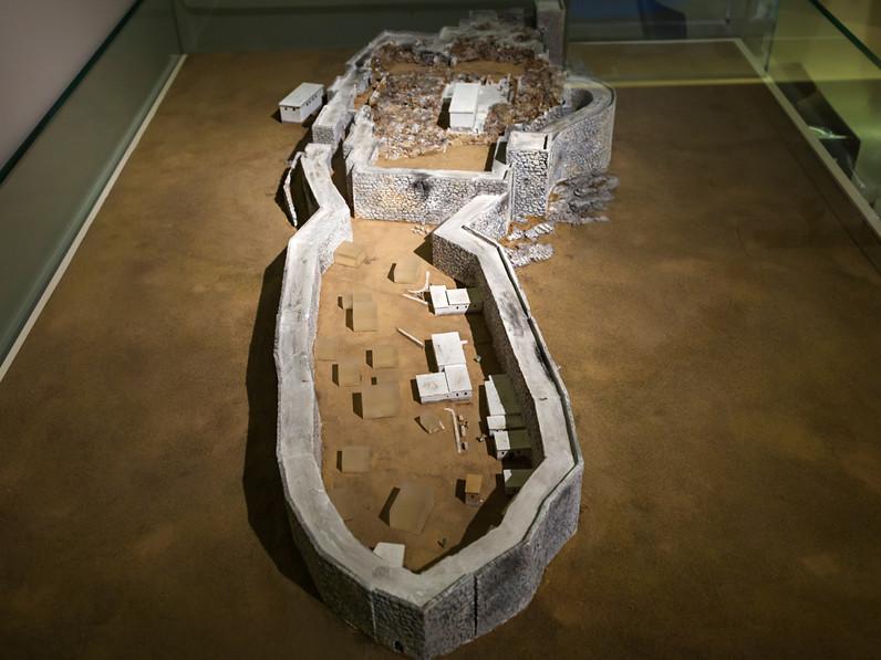 Modell der Festung im Museum in Nauplion (c) Tobias Schorr