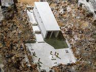 Modell eines mykenischen Heiligtums in der Akropolis von Tyrins