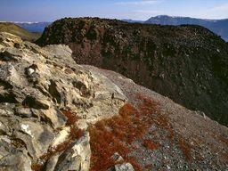 Der Nautilus-Lavadom auf der Insel Nea Kameni. (c) Tobias Schorr