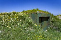 """Überall an der Küste liegen Bunker, die vor dem """"türkischen Feind"""" Sicherheit vorgaukeln. (c) Tobias Schorr"""