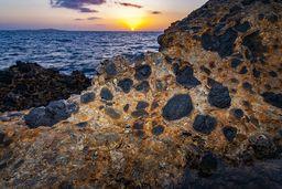 Lava, die unterseeisch ausgeflossen ist. (c) Tobias Schorr