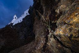 Blick auf das Kloster Panagia Spiliani. (c) Tobias Schorr