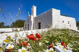 Die Evangelistria-Kapelle ist ein idealer Ort für Pausen. (c) Tobias Schorr