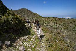 Wandern ist die beste Möglichkeit, Nisyros kennen zu lernen! (c) Tobias Schorr