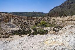 Der kleine, parasitäre Krater vom Stefanos-Krater. (c) Tobias Schorr