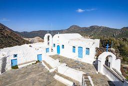 Das Kloster Stavros, das am 13 September feiert, ist ideal für eine Pause beim Wandern. (c) Tobias Schorr