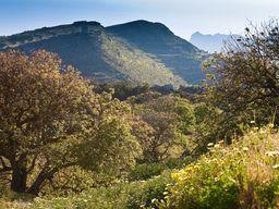 Wandern in den Bergen von Nisyros