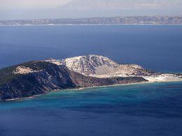 The island of Yali is an pumice mining area