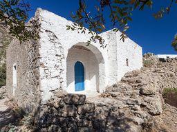 Ein kleines Bauernhaus am Kloster Agios Joannis. (c) Tobias Schorr