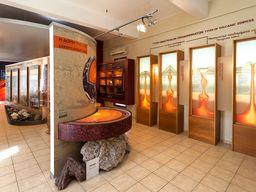 Das Vulkanmuseum in Nikia ist der richtige Einstieg, um den Vulkan zu verstehen. (c) Tobias Schorr