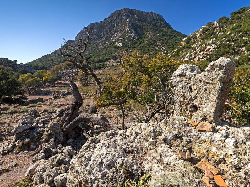 Der minoische Stieraltar im Nymphios-Tal auf Nisyros. (c) Tobias Schorr 2014