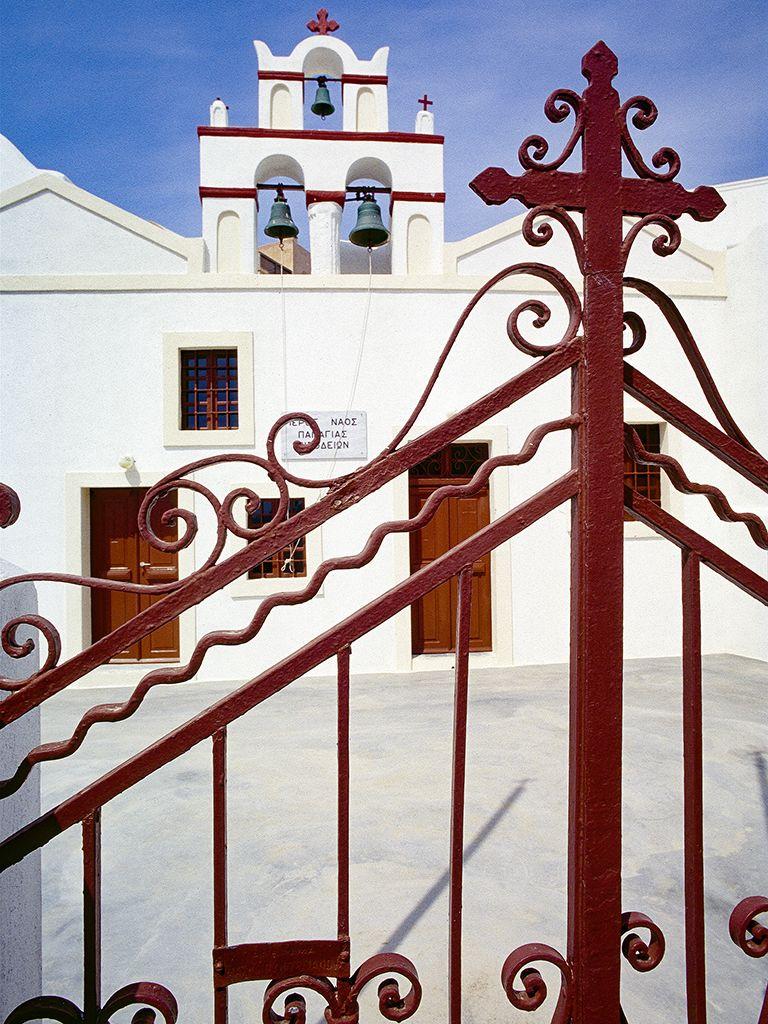 Die Kapelle der Panagia in Oía. (c) Tobias Schorr