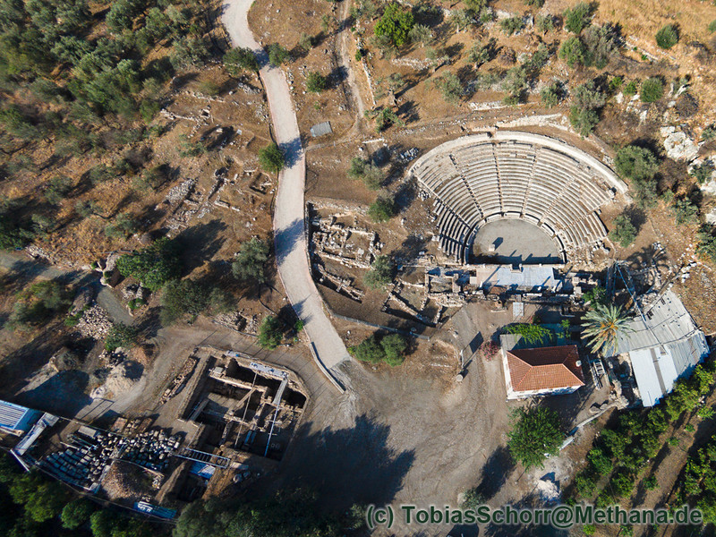 Ausgrabung um das antike Theater von Palia Epidavros (c) Tobias Schorr