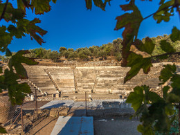 Das antike Theater von Palia Epidavros (c) Tobias Schorr, September 2015
