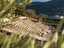 Blick ins Amphitheater von Palaia Epidaurus (c) Tobias Schorr