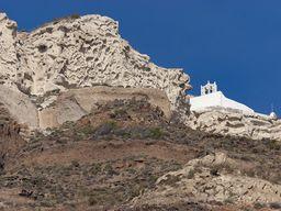 Die Agios Nikolaos Kapelle bei Megalochori. (c) Tobias Schorr