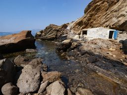 Das kleine Heilbad. Leider in 2007 durch den Ölschlamm der Ms Sea Diamond beeinträchtigt. (c) Tobias Schorr