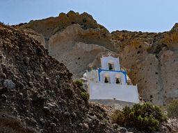 Die Kapelle Agios Nikolaos. (c) Tobias Schorr