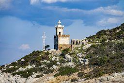 Der Leuchtturm von Poros. (c) Tobias Schorr