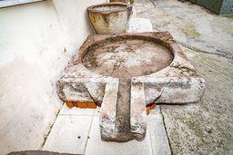 Antike (römische?) Weinpresse aus Methana. (c) Tobias Schorr