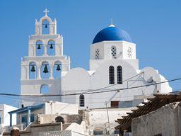 Die Christos-Kirche in Pyrgos. (c) Tobias Schorr
