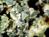 A pyroxene crystal