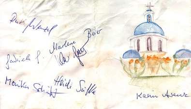 Santorin-Rückmeldung 1996