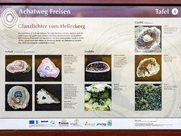 Infotafel zum Achatweg bei Freisen. (c) Tobias Schorr