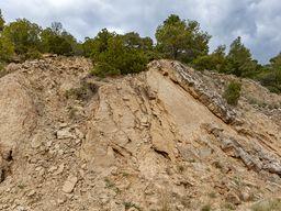 Παλιά ιζηματογενής πέτρωματα μίας λιμνής 30-40 εκ. χρονών. (c) Tobias Schorr