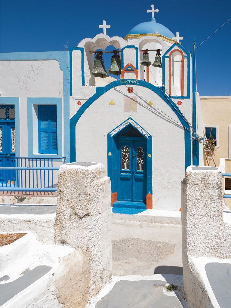 Die Kapelle Agios Joannis Prodromos in Manolas. (c) Tobias Schorr