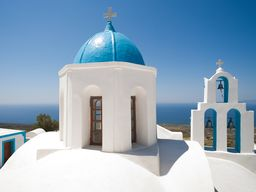 Die Kirche Agios Charalambos auf Thirasia. (c) Tobias Schorr