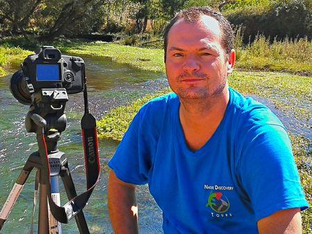 Ο διευθυντής της εταιρίας Nature Discovery Tours, Τωβίας Σώρρος