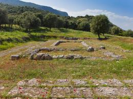 Der Grundriss des Hippolytos-Tempels (c) Tobias Schorr