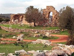 Die Ruine der Episkopi-Kirche (c) Tobias Schorr 1991